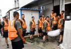 【合肥发布第11号汛情通告】安徽三千年古镇遭洪水围困 居民撤离