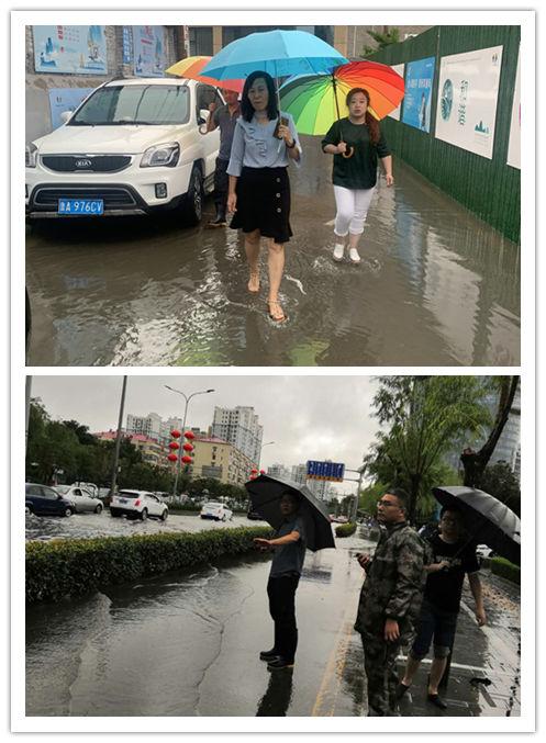 北坦街道全面开展防汛应急工作 切实保障辖区居民安全
