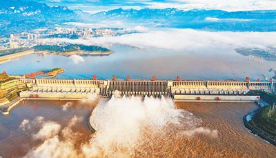 三峡水库 为长江保安澜(统筹做好疫情防控和防汛救灾工作)