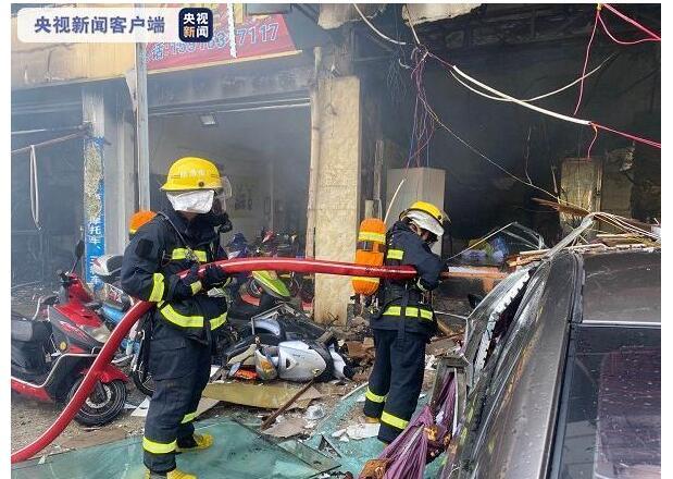 【现场】广东珠海一酒店发生煤气