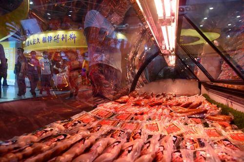 """中国人的""""肉篮子""""越来越丰富"""