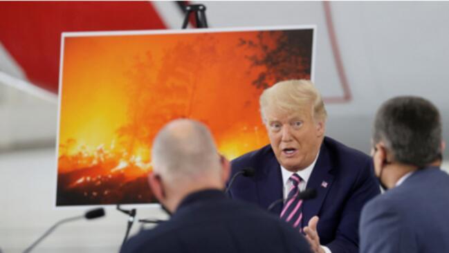 环球深观察丨特大山火是天灾还是人祸? 看看美国抛弃《巴黎协定》后干了什么
