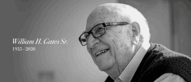 【泪目】比尔盖茨父亲去世终年94岁 比尔盖茨发文悼念