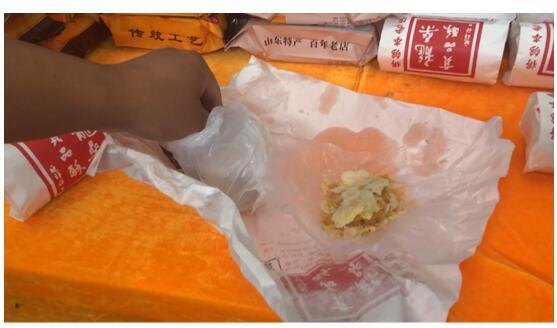淘宝美食博主现场带货直播 黑蒜、扒鸡,这届农博会有的逛