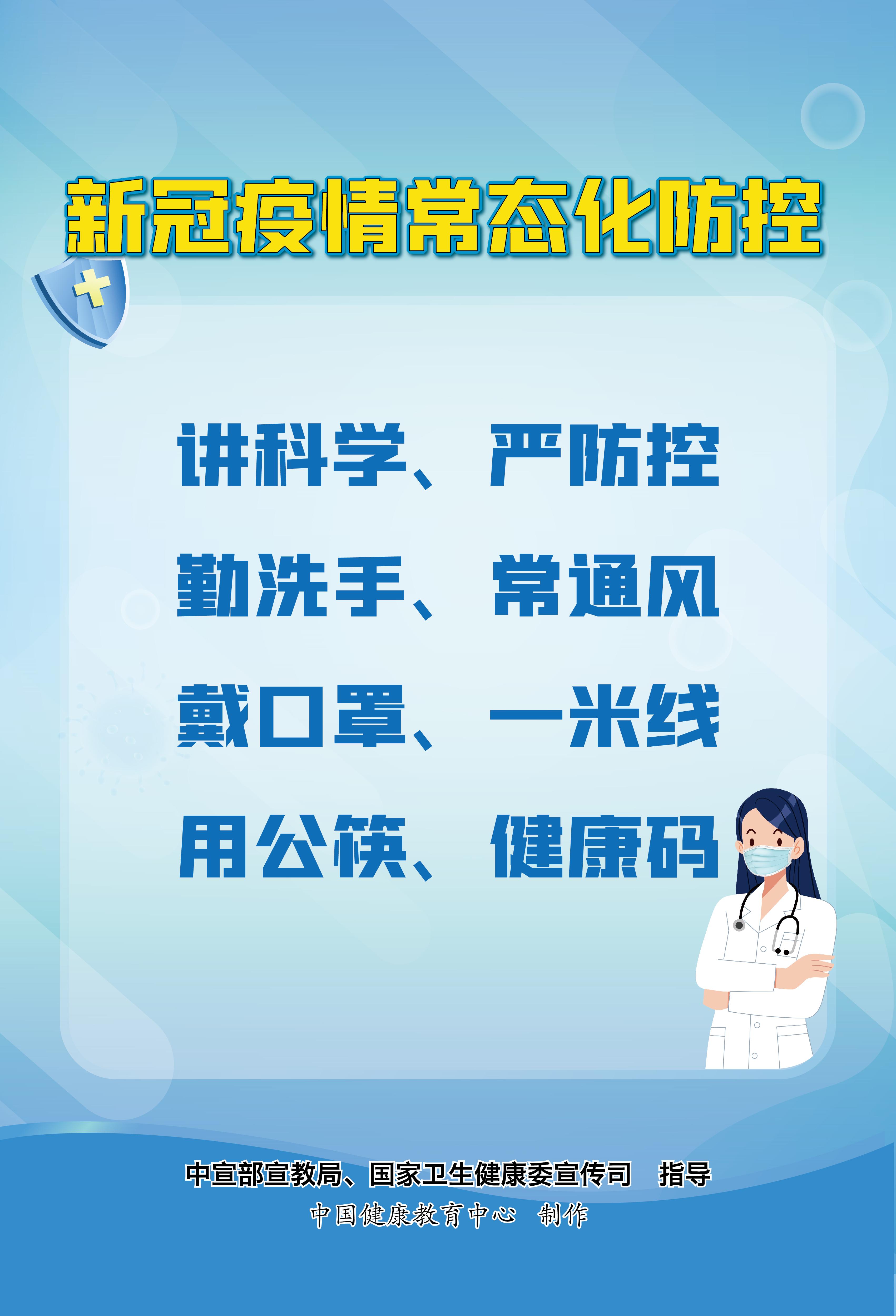 【图集】新冠肺炎疫情防护知识宣传海报