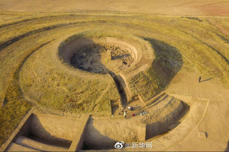 中国首次发掘北魏皇家祭天遗址 圆形房屋设有祭品环壕