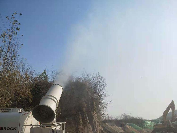 港沟街道开展冬季大气污染防治攻坚行动