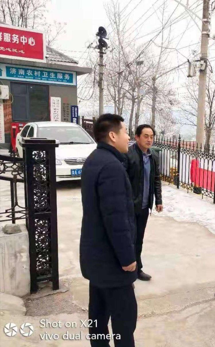 彩石街道韩家峪村开展新时代文明实践志愿者推进清洁取暖工作