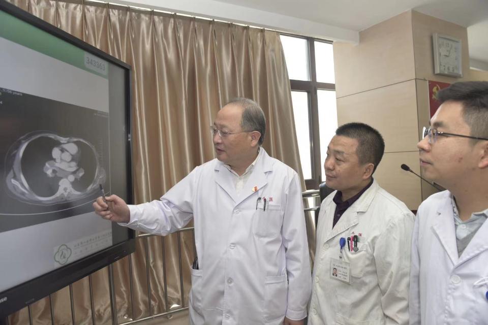 专业引领 省级呼吸专科区域医疗中心落户山一大一附院