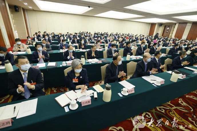 十三届全国人大四次会议山东代表团成立