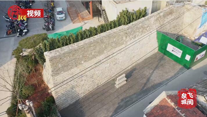 俯瞰雄伟古城墙 感受厚重历史