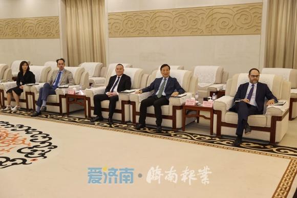 孫立成會見西班牙駐華大使