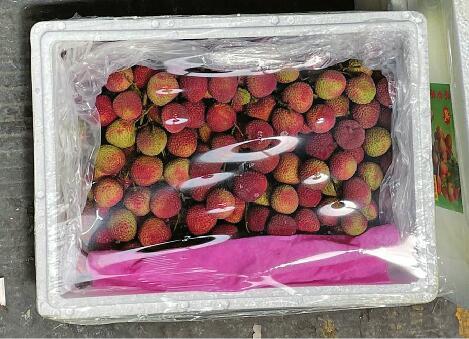 上市一個月,濟南市場荔枝價格降一半
