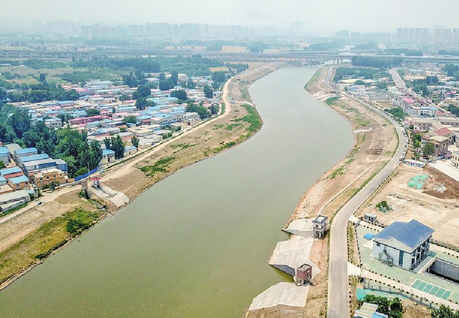 小清河城区内外交界点 30米宽的河道增至百米