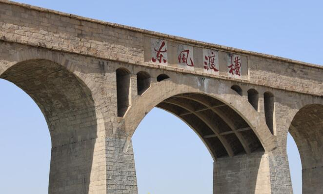 濟南記憶 東風渡槽:是一組建筑、一種精神,還是一段歷史