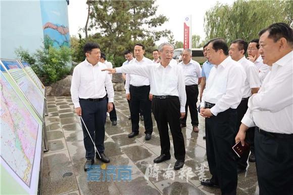 刘家义在调研黄河防汛备汛工作时强调 加强隐患排查整治 确保防汛措施落实到位