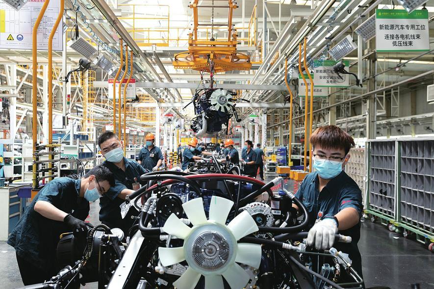 """百余种重点产品产量居全国前三 """"山东制造""""高质量发展动力强劲"""