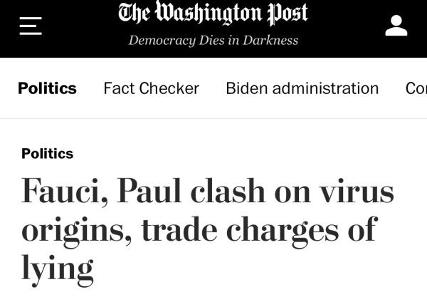 美参议员不怀好意炒作美资助武汉病毒研究所,福奇发飙怒怼:撒谎的是你!