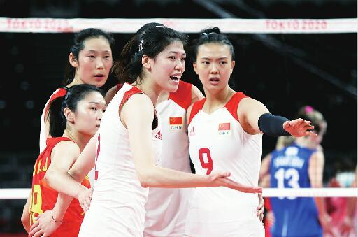 无缘八强创队史奥运最差战绩 中国女排:用微笑面对挫折