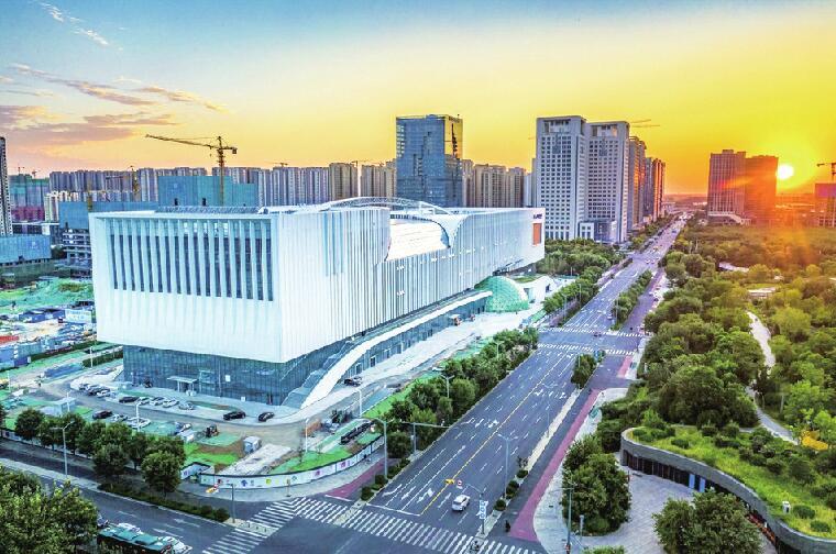 山东省科技馆新馆预计明年开放 定位中国十大科技馆之一,建成后将成为山东科技文化新地标