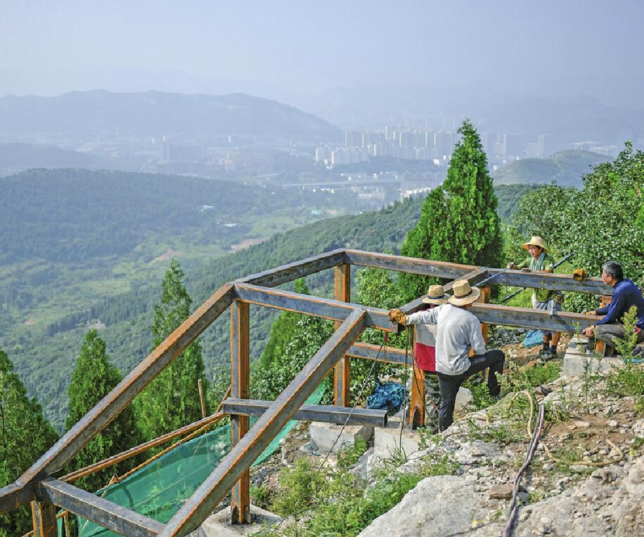 大千佛山片区打造绿道网