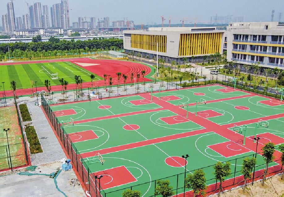 济南西客站片区这所新学校今年启用