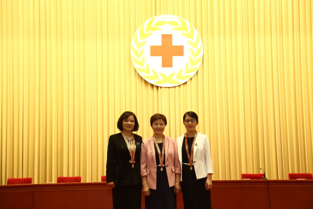 3名中国护理工作者获得第48届南丁格尔奖