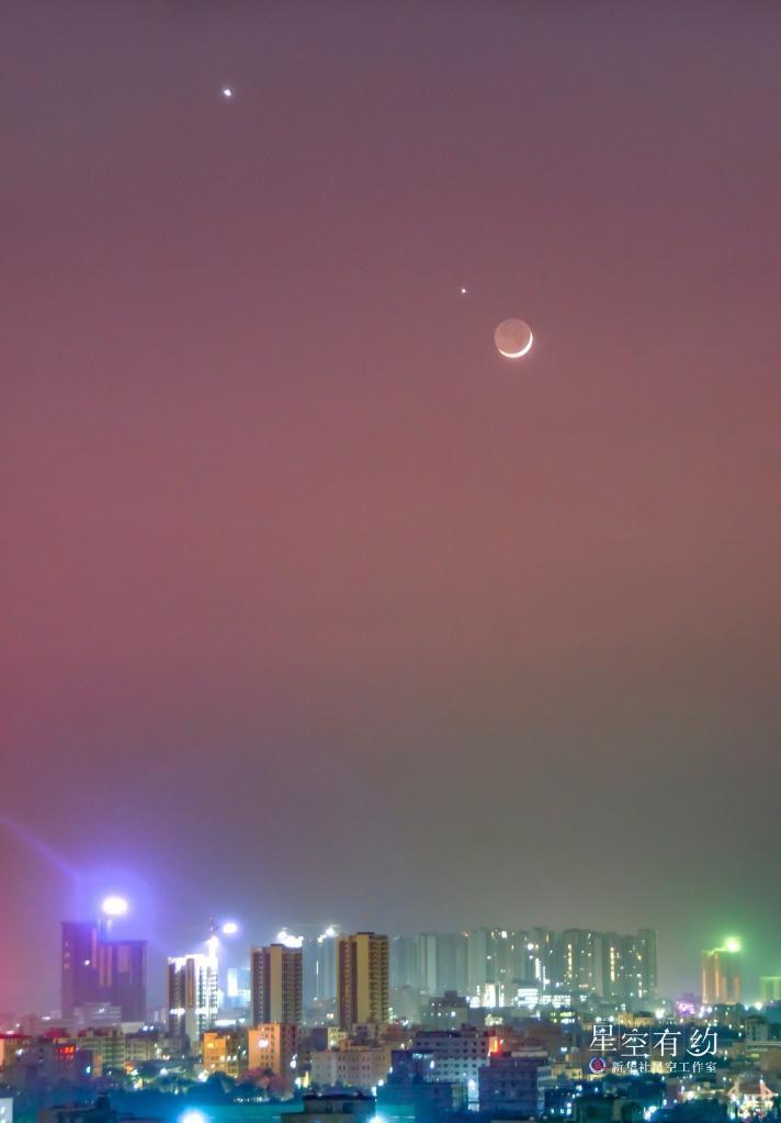 """土木""""双星伴月""""14日和15日连续上演,天若晴肉眼可见"""