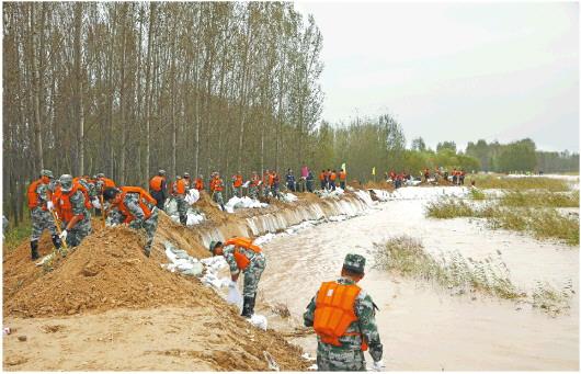 【这就是山东·战秋汛】流量略低于前期,黄河山东段大流量过程还将持续15天左右