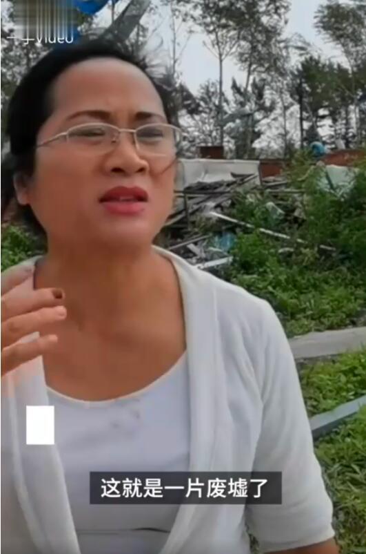 黑龙江乡镇遭龙卷风房盖满天飞  电力设施遭受严重破坏