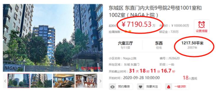 乌龙闹剧?成龙北京超7000万豪宅被拍卖会 国际巨星也没有房产证!
