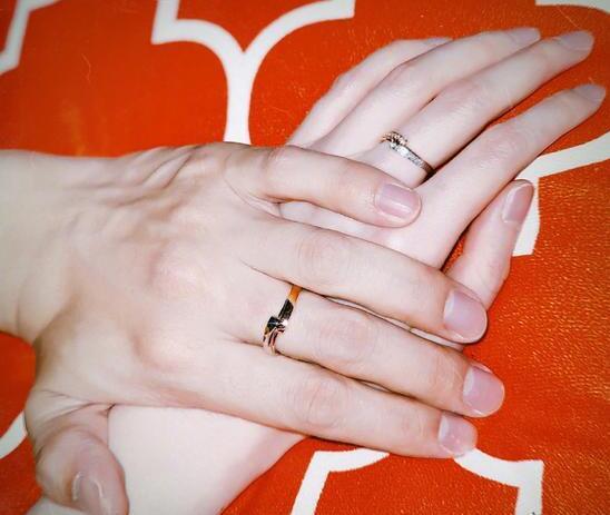 订婚了!张檬金恩圣戴情侣对戒正式公布恋情 张檬卡点为小五庆生